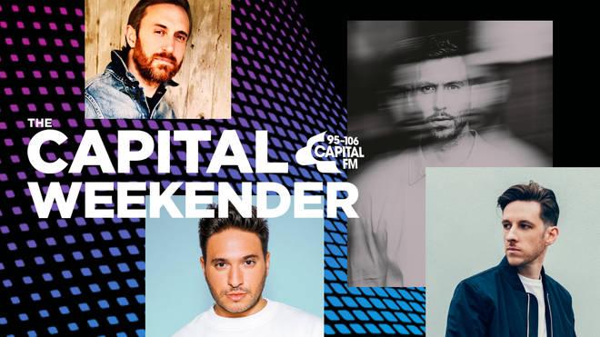 Calvin Harris, David Guetta, Jonas Blue and Sigala are taking over the Capital Weekender