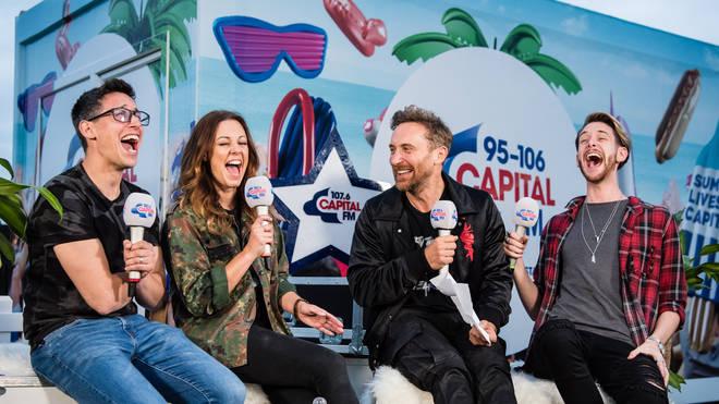 David Guetta on Capital Liverpool at Fusion Festival 2018