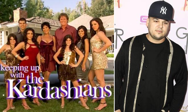 Where does Rob Kardashian do for a living? Where did he go?