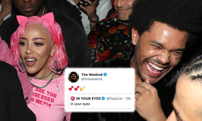 The Weeknd's 'In Your Eyes' is set to be remixed by Doja Cat