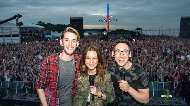Adam, Gemma & Dylan On Stage At Fusion Festival 2018