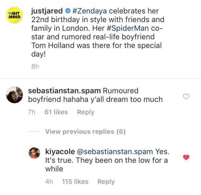 Zendaya & Tom Holland 'Confirmed' To Be Dating After