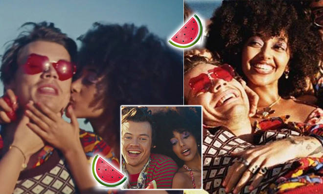 Harry Styles dropped the 'Watermelon Sugar' visuals on May 18