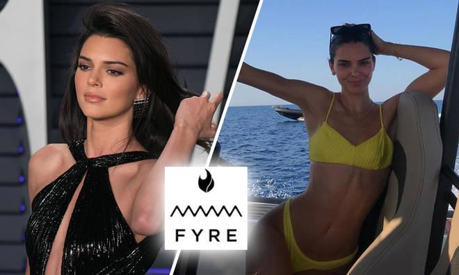 Kendall Jenner post Fyre Festival