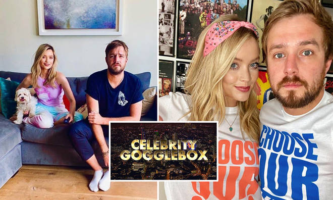 Laura Whitmore and Iain Stirling are taking part in Celebrity Gogglebox 2020