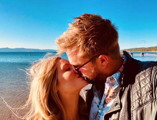 Laura Whitmore and Iain Stirling hosted the winter series of Love Island