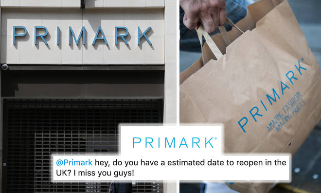 Primark addresses if they'll re-open on June 15th