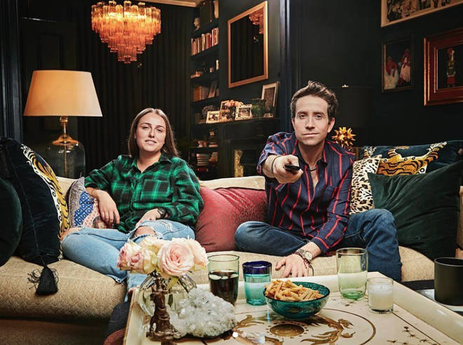 Nick Grimshaw will be joined by niece Liv on Celebrity Gogglebox