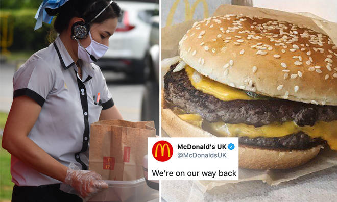McDonald's have vowed to open all UK & Ireland drive-thrus 'by June 4'.