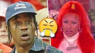 """Nicki Minaj Wanted to """"Punch Travis Scott In His Face"""""""