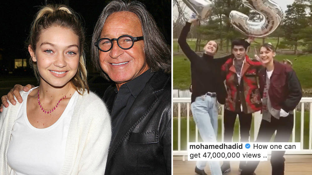 Gigi Hadid And Zayn Malik S Baby Announcement Fan Reaction Shocks Her Dad Mohamed Hadid Capital