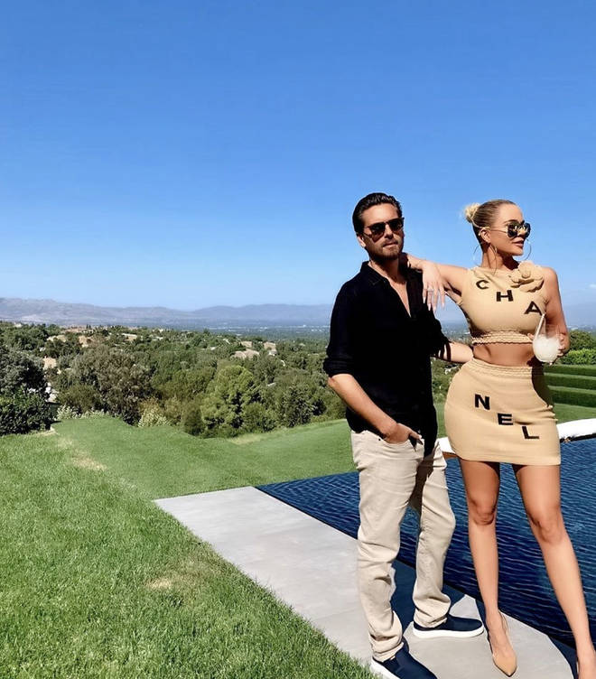 The Kardashians attended a party for Scott Disick's birthday