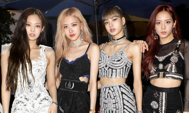 Blackpink is formed of four female members