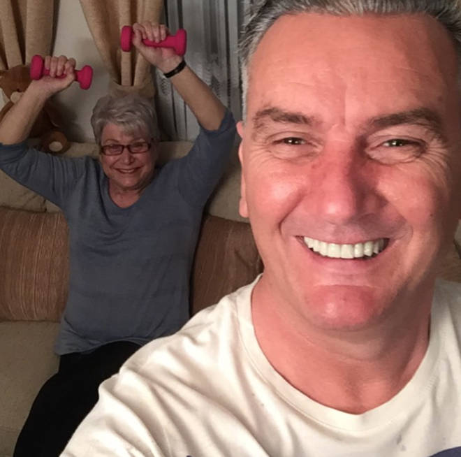 Gogglebox's Jenny and Lee have been isolating together