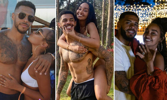 Leigh-Anne Pinnock and Andre Gray began their relationship in 2016 and are now engaged