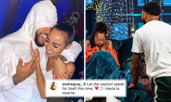Inside Leigh-Anne Pinnock & Andre Gray's engagement