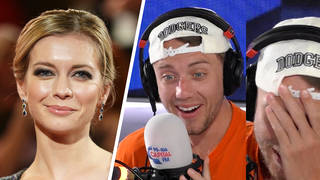 Rachel Riley surprises Roman Kemp on Capital Breakfast