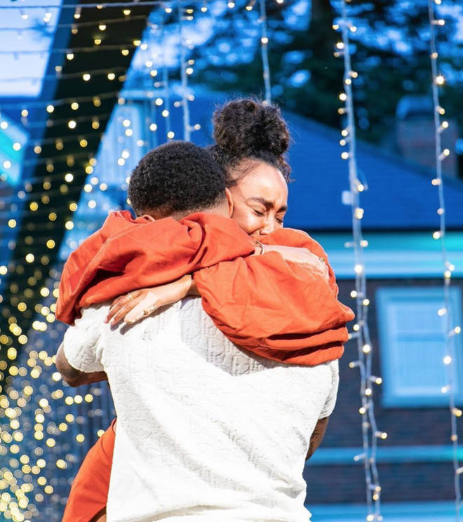 Leigh-Anne was truly surprised by Andre's proposal
