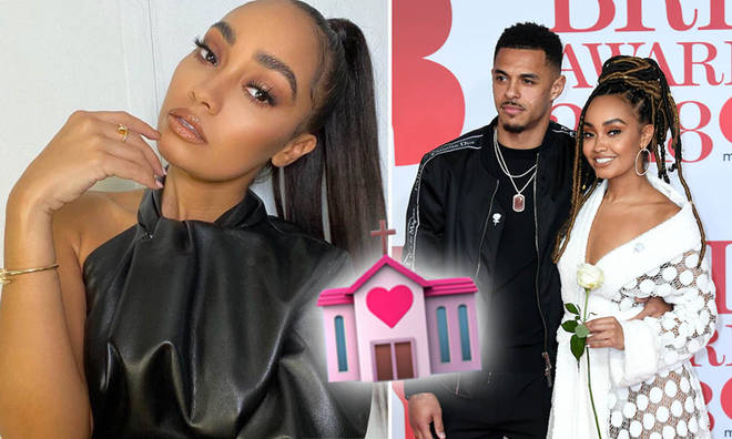 Leigh-Anne Pinnock has been planning her wedding to Andre for months