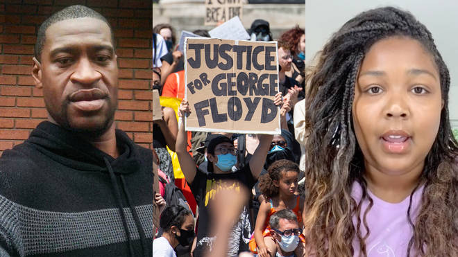 Lizzo is among the many artists speaking out following George Floyd's death, as protestors gather in the UK