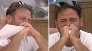 Ryan Thomas broke down in tears.