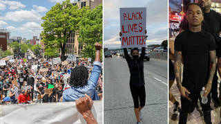 Celebrities are joining the protests against George Floyd's death