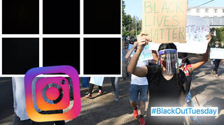 Blackout Tuesday is happening across social media