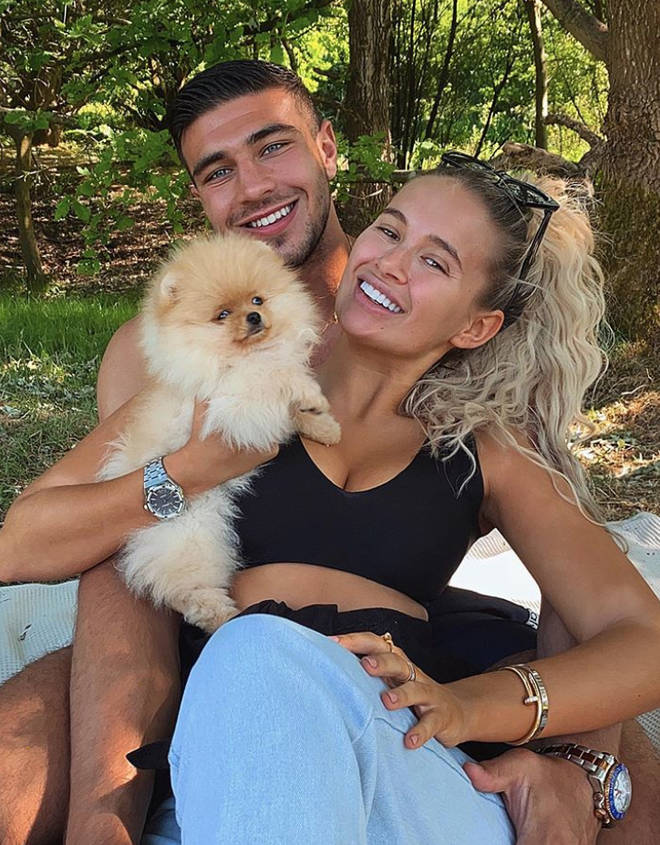 Molly-Mae Hague and Tommy Fury started an Instagram account for their pup