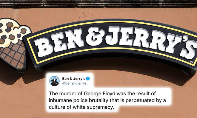 Ben & Jerry's shared a strong message about the importance of the Black Lives Matter movement