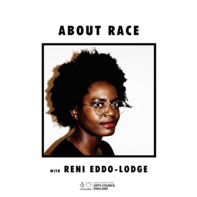 About Race is by the author of Why I'm No longer Talking to White People About Race