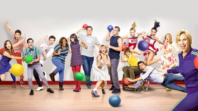 Glee starred Lea Michele, Darren Criss and Chris Colfer