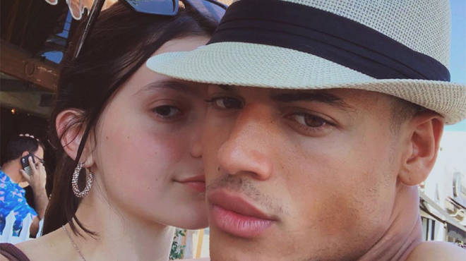 Jan Luis Castellanos has been with his longterm girlfriend for five years