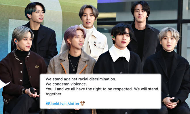 BTS Donating To Black Lives Matter Organisations & Post Statement ...