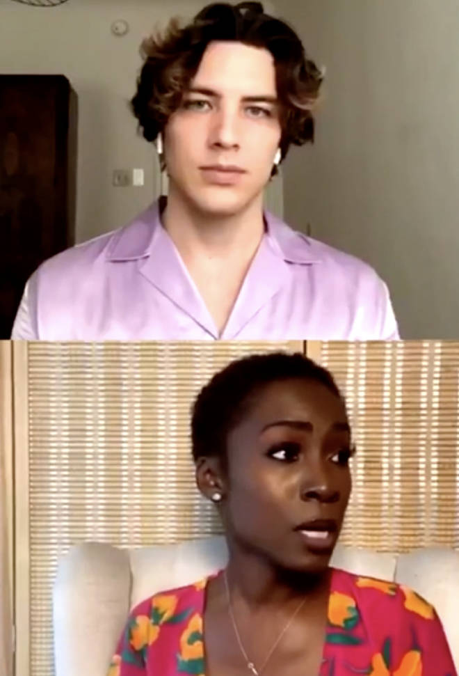 Angelica Ross and Cody Fern discussed the BLM movement on Instagram live