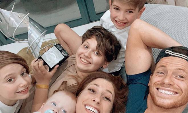 Stacey Solomon and boyfriend Joe Swash have four children altogether