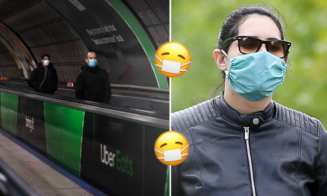 Face masks will now be compulsory on public transport.