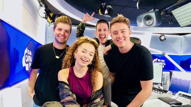 Sigala and Ella Eyre on Capital Breakfast with Roman Kemp and Sonny Jay