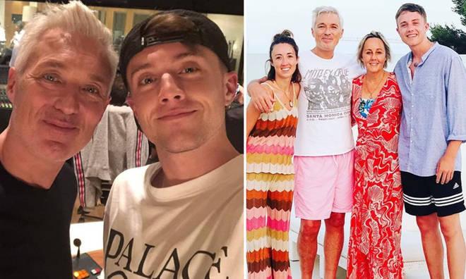 Roman Kemp has a famous family.