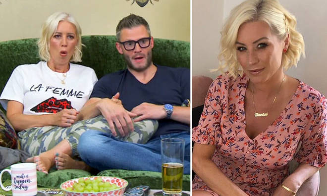 Denise has returned for the new series of Celebrity Gogglebox.