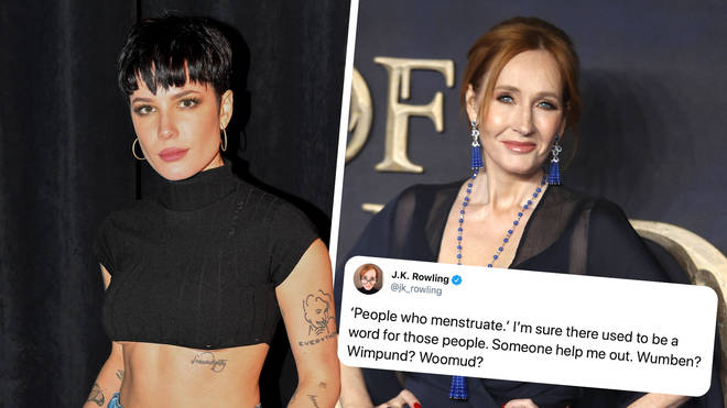 Halsey responded to J.K. Rowling's transphobic posts on Twitter
