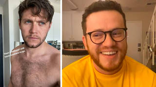 Niall Horan has sent Sam Fischer topless videos