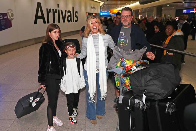 Kate Garraway and husband Derek have two children