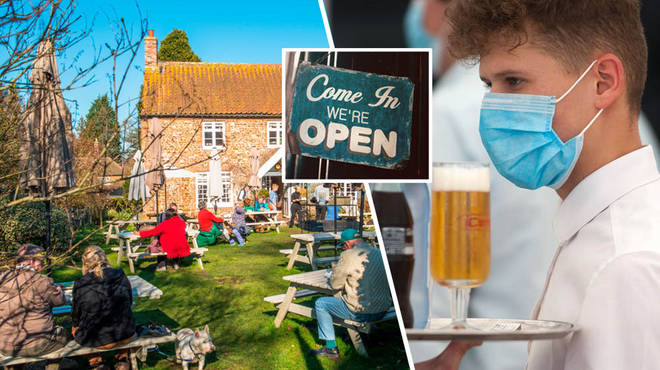 Pub gardens in the UK are rumoured to re-open on 22 July