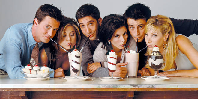 Friends starred Jennifer Aniston and Matt LeBlanc