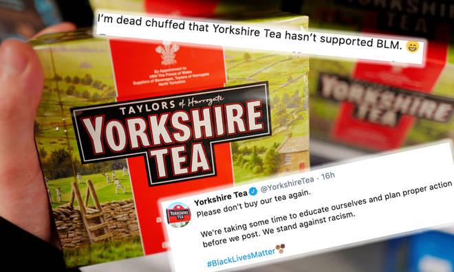 Yorkshire Tea shut down customer 'relieved' they didn't speak out over BLM
