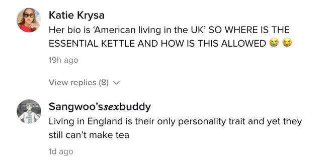 British people were 'shocked' by the way Michelle and her daughter made tea