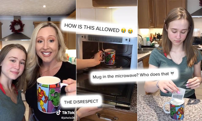 TikTok users criticised @jchelle36's 'British tea' tutorial, branding it 'disrespectful'