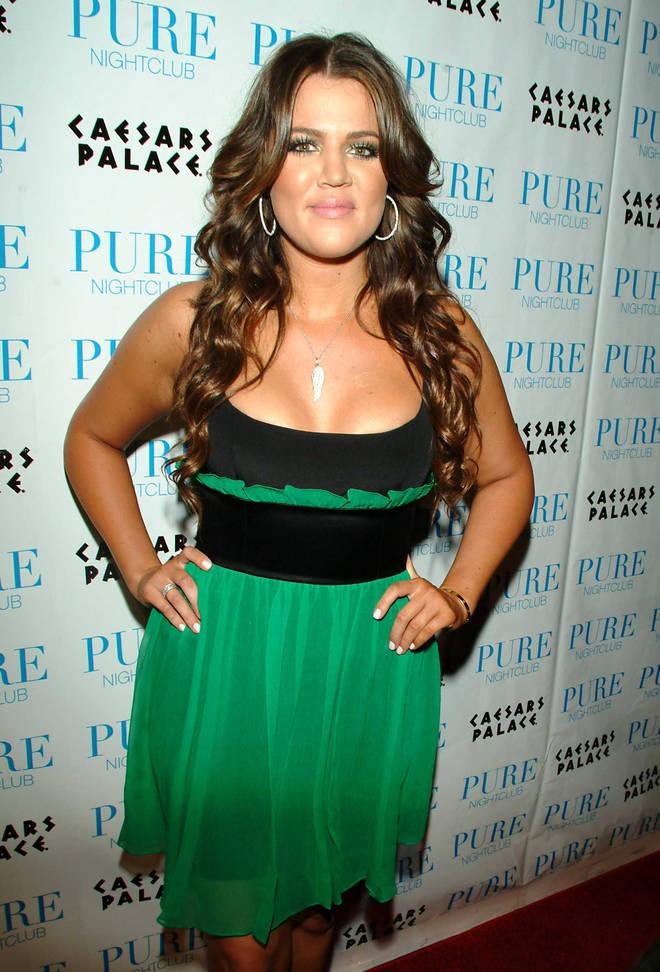 Khloe Kardashian first shot to fame with dark brown hair