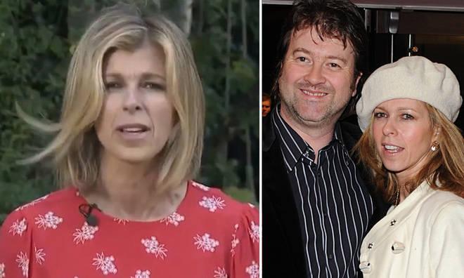 Kate's husband Derek was struck down with coronavirus in March.