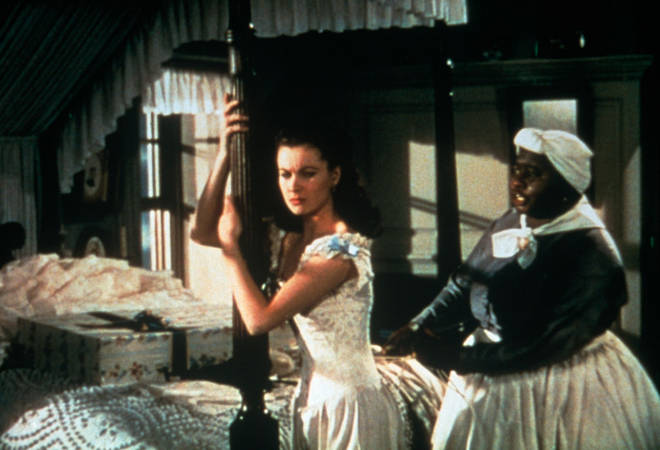 Gone with the Wind depicts racial prejudices